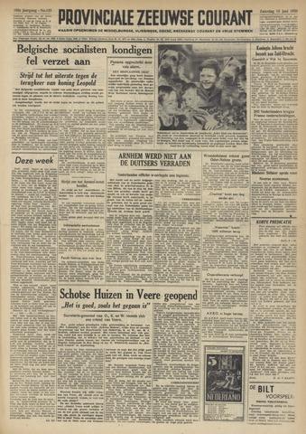 Provinciale Zeeuwse Courant 1950-06-10