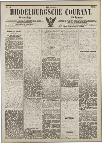 Middelburgsche Courant 1902-01-15