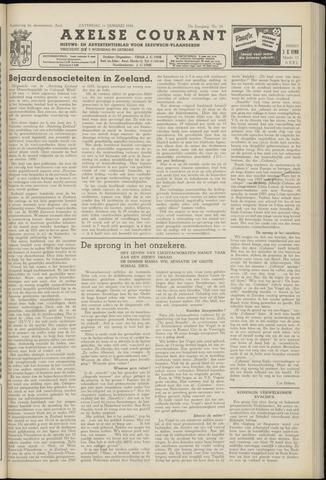 Axelsche Courant 1958-01-11