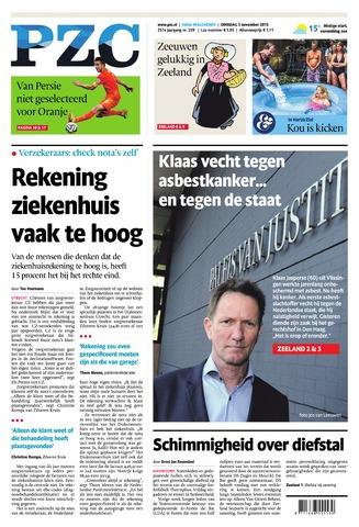 Provinciale Zeeuwse Courant 2015-11-03