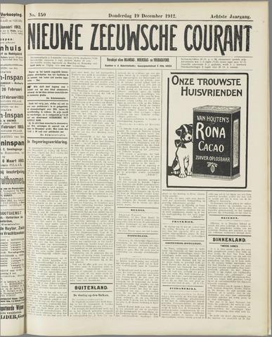 Nieuwe Zeeuwsche Courant 1912-12-19