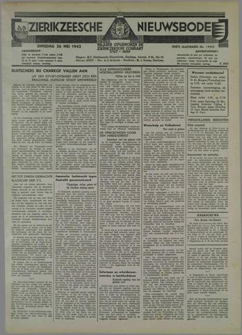 Zierikzeesche Nieuwsbode 1942-05-26