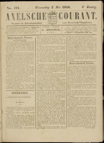 Axelsche Courant 1888-05-02