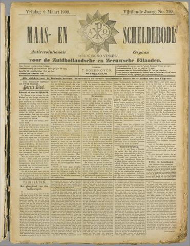 Maas- en Scheldebode 1900