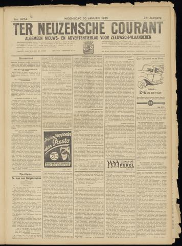 Ter Neuzensche Courant. Algemeen Nieuws- en Advertentieblad voor Zeeuwsch-Vlaanderen / Neuzensche Courant ... (idem) / (Algemeen) nieuws en advertentieblad voor Zeeuwsch-Vlaanderen 1935-01-30