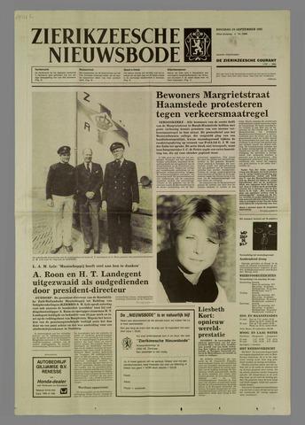 Zierikzeesche Nieuwsbode 1985-09-24