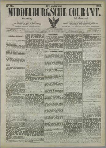 Middelburgsche Courant 1891-01-24