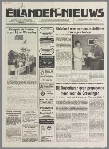 Eilanden-nieuws. Christelijk streekblad op gereformeerde grondslag 1990-07-06