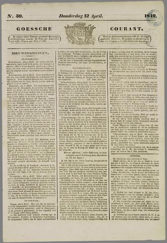 Goessche Courant 1849-04-12