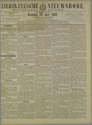 Zierikzeesche Nieuwsbode 1907-06-25