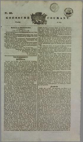 Goessche Courant 1836-07-18
