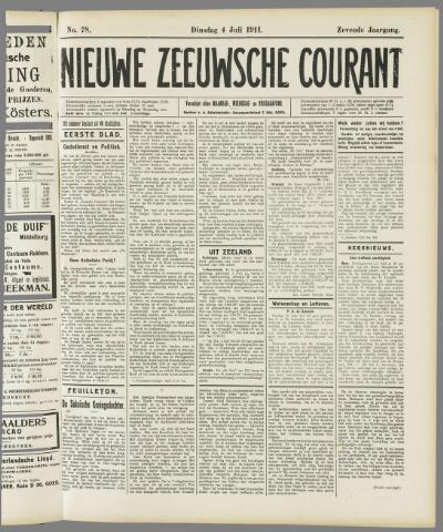 Nieuwe Zeeuwsche Courant 1911-07-04