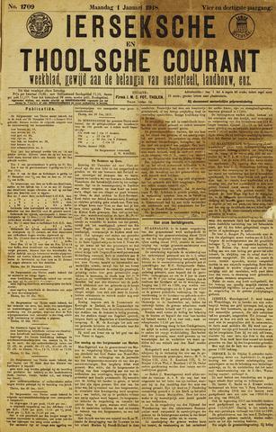 Ierseksche en Thoolsche Courant 1918