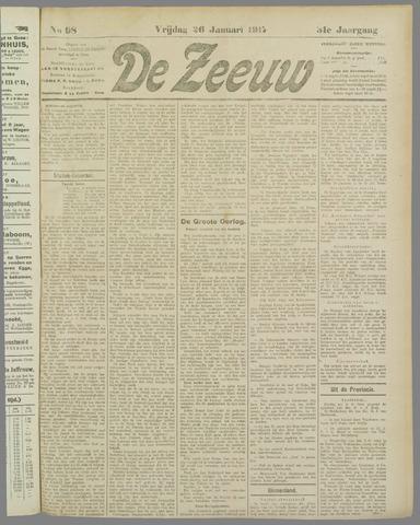 De Zeeuw. Christelijk-historisch nieuwsblad voor Zeeland 1917-01-26