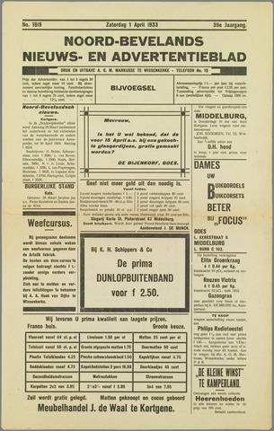 Noord-Bevelands Nieuws- en advertentieblad 1933-04-01
