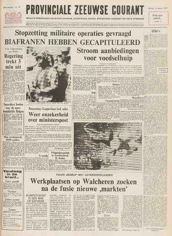 Provinciale Zeeuwse Courant 1970-01-13