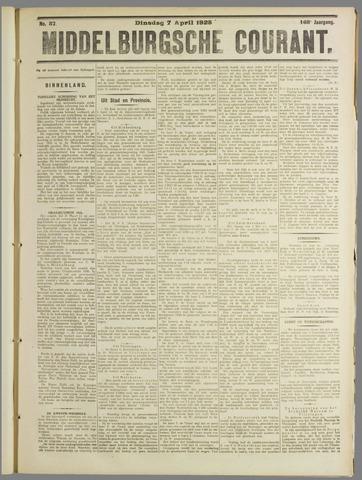 Middelburgsche Courant 1925-04-07