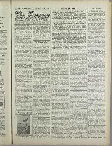 De Zeeuw. Christelijk-historisch nieuwsblad voor Zeeland 1943-06-01