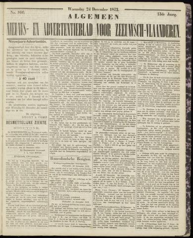 Ter Neuzensche Courant. Algemeen Nieuws- en Advertentieblad voor Zeeuwsch-Vlaanderen / Neuzensche Courant ... (idem) / (Algemeen) nieuws en advertentieblad voor Zeeuwsch-Vlaanderen 1873-12-24