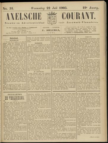 Axelsche Courant 1903-07-22