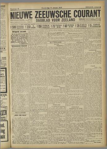 Nieuwe Zeeuwsche Courant 1922-01-19