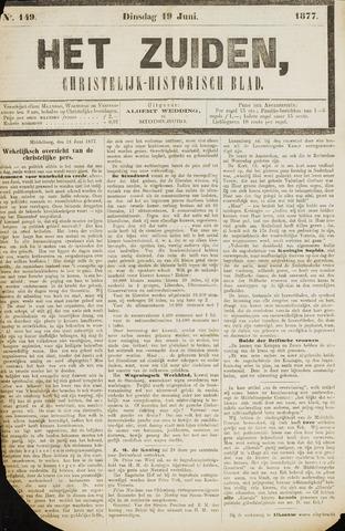 Het Zuiden, Christelijk-historisch blad 1877-06-19