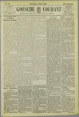 Goessche Courant 1919-07-05