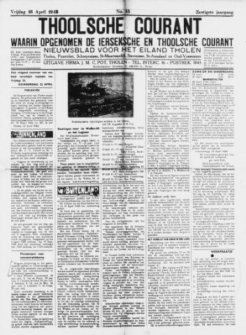 Ierseksche en Thoolsche Courant 1943-04-16