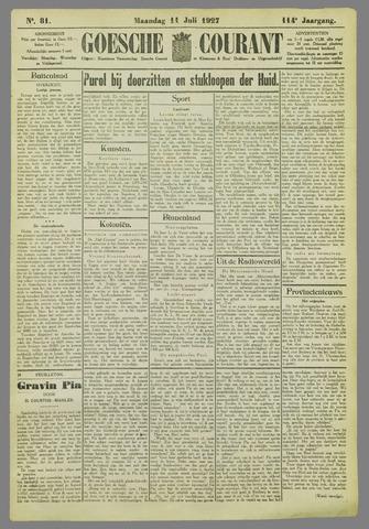 Goessche Courant 1927-07-11