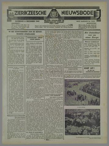 Zierikzeesche Nieuwsbode 1941-11-07