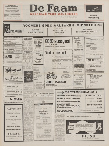 de Faam en de Faam/de Vlissinger 1971-08-26