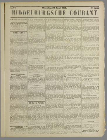 Middelburgsche Courant 1919-06-23
