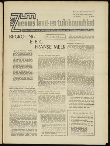 Zeeuwsch landbouwblad ... ZLM land- en tuinbouwblad 1964-10-02