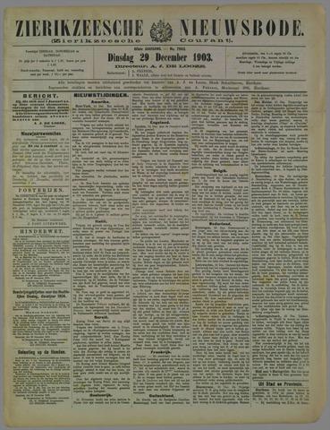 Zierikzeesche Nieuwsbode 1903-12-29