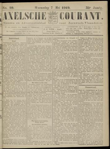 Axelsche Courant 1919-05-07