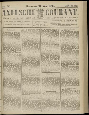 Axelsche Courant 1920-07-21