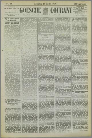 Goessche Courant 1919-04-26
