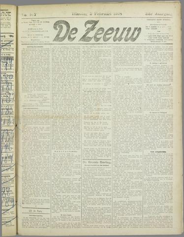 De Zeeuw. Christelijk-historisch nieuwsblad voor Zeeland 1918-02-05