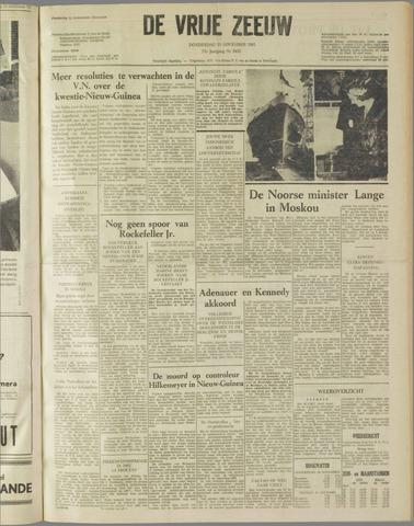 de Vrije Zeeuw 1961-11-23