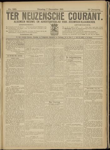 Ter Neuzensche Courant. Algemeen Nieuws- en Advertentieblad voor Zeeuwsch-Vlaanderen / Neuzensche Courant ... (idem) / (Algemeen) nieuws en advertentieblad voor Zeeuwsch-Vlaanderen 1915-12-07