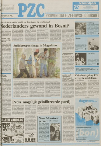 Provinciale Zeeuwse Courant 1993-10-26