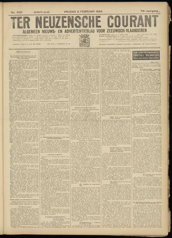 Ter Neuzensche Courant. Algemeen Nieuws- en Advertentieblad voor Zeeuwsch-Vlaanderen / Neuzensche Courant ... (idem) / (Algemeen) nieuws en advertentieblad voor Zeeuwsch-Vlaanderen 1934-02-02