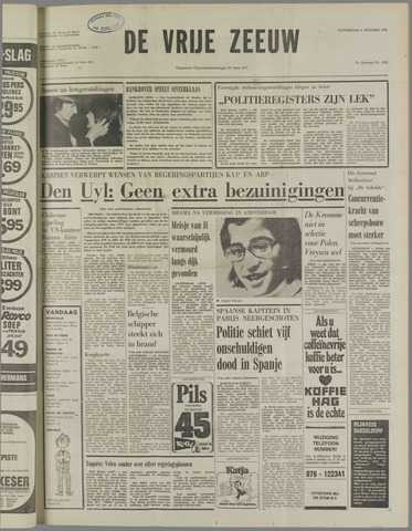 de Vrije Zeeuw 1975-10-09