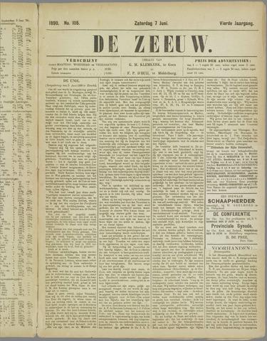 De Zeeuw. Christelijk-historisch nieuwsblad voor Zeeland 1890-06-07