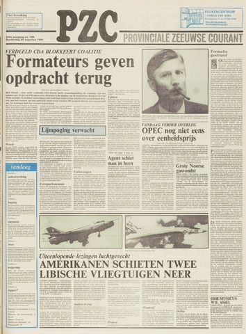 Provinciale Zeeuwse Courant 1981-08-20