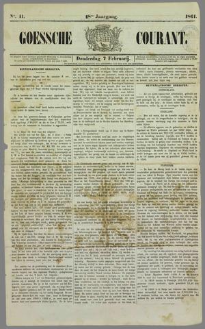 Goessche Courant 1861-02-07