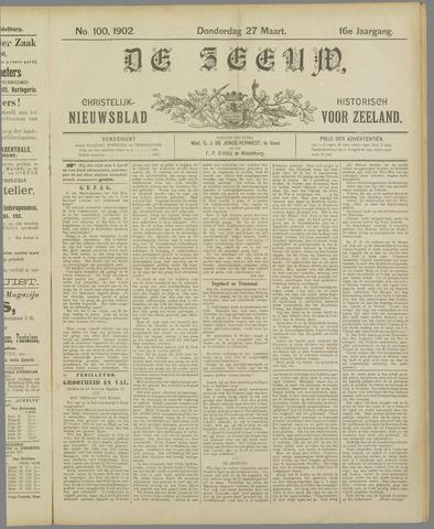 De Zeeuw. Christelijk-historisch nieuwsblad voor Zeeland 1902-03-27