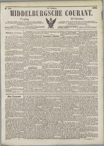 Middelburgsche Courant 1899-10-13