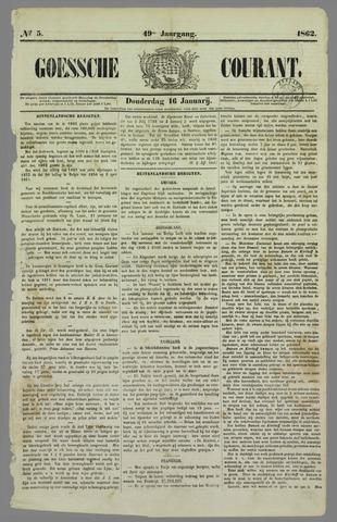 Goessche Courant 1862-01-16