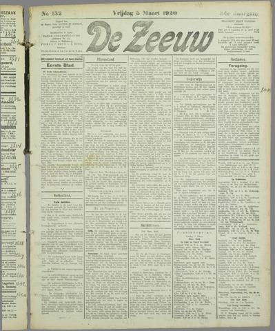 De Zeeuw. Christelijk-historisch nieuwsblad voor Zeeland 1920-03-05